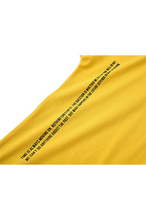 Load image into Gallery viewer, nitro nano Side Will T-shirts Yellow