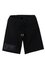 Load image into Gallery viewer, Black Logo Shorts Blk
