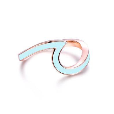 Lagoon Wave Ring