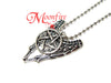 SUPERNATURAL Angel Wings Pentagram Pendant Necklace