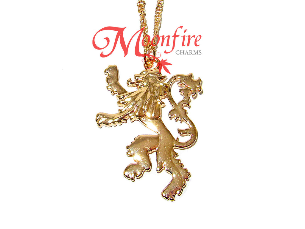 GAME OF THRONES House Lannister Lion Necklace