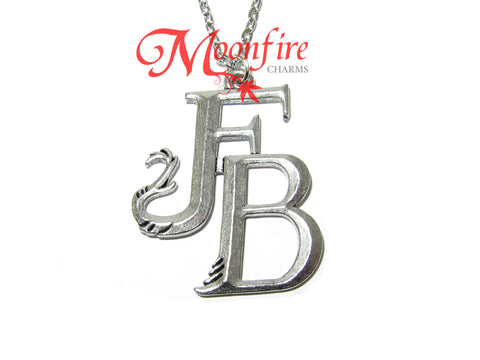 FANTASTIC CREATURES FB Logo Symbol Pendant Necklace