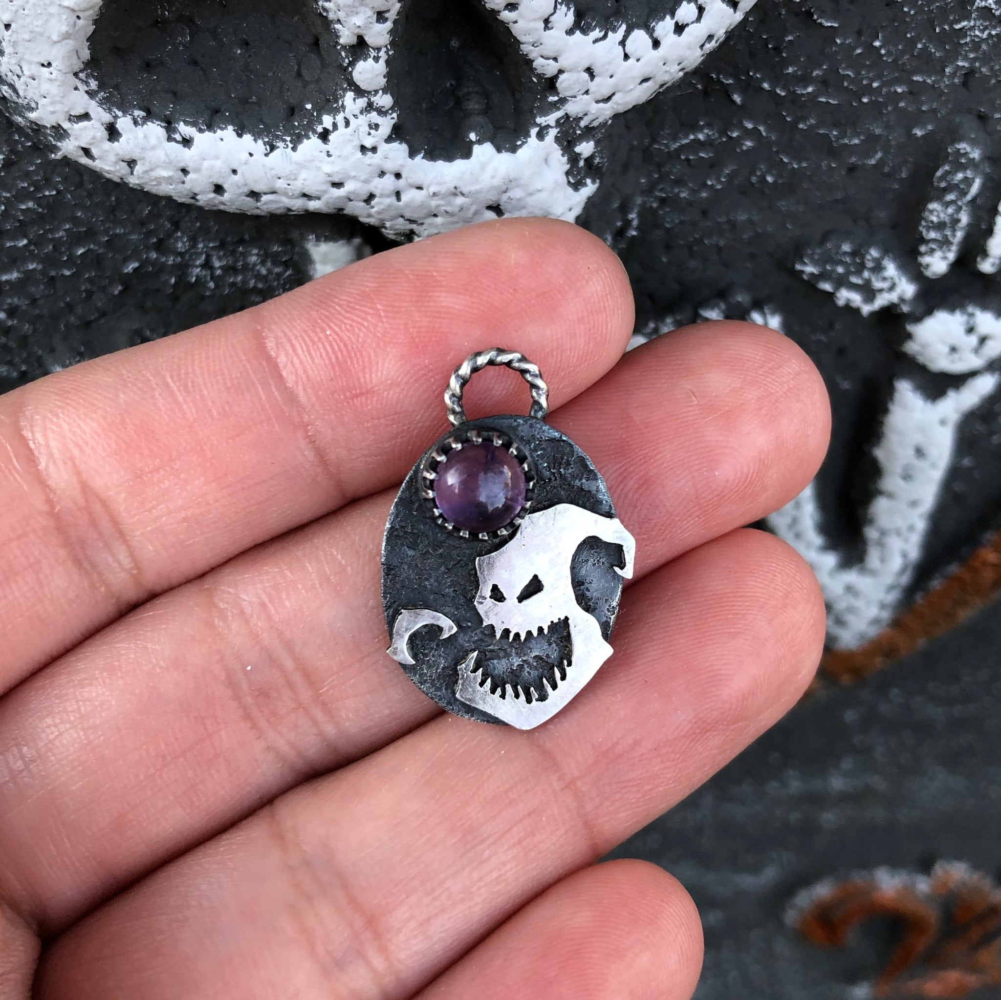 Boogey's Fright Delight Pendant Necklace
