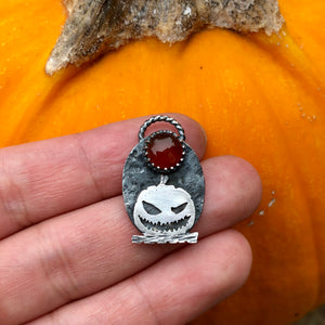 Sinister Jack Pendant Necklace