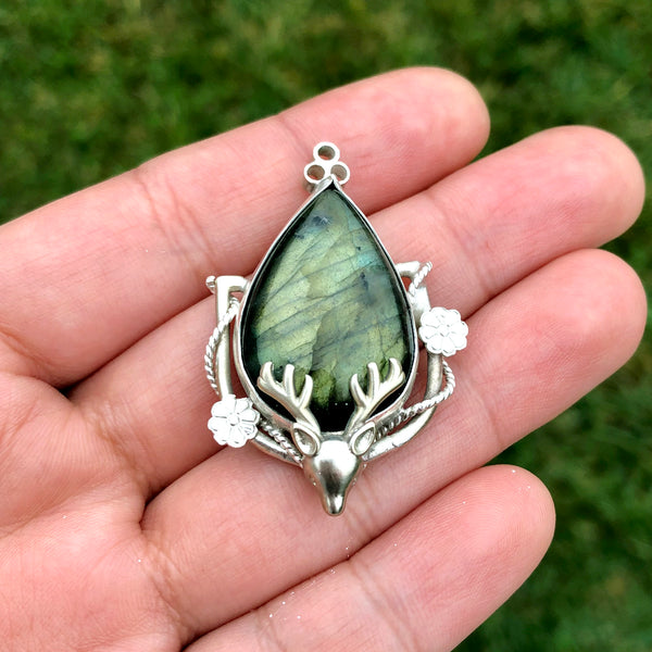 Mystic Wilderness Pendant Necklace