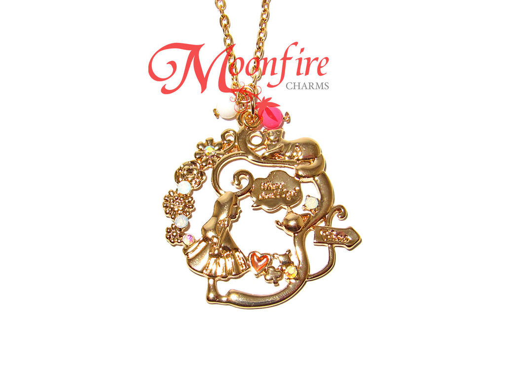 ALICE IN WONDERLAND Alice And The Cheshire Cat Necklace