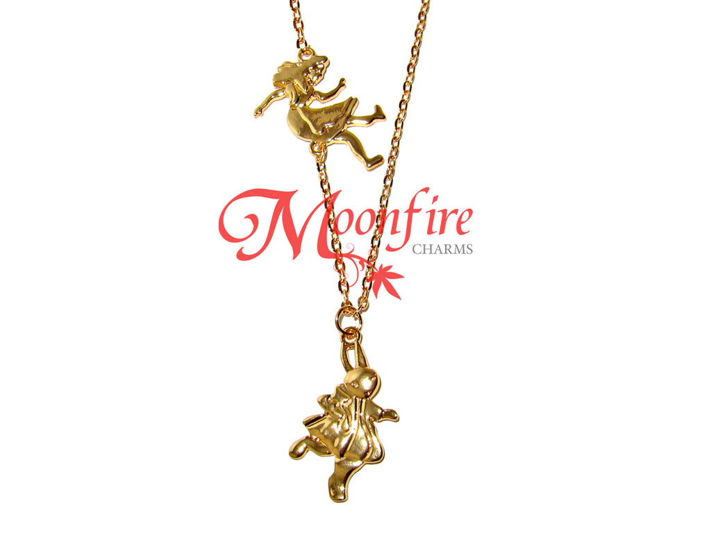 ALICE IN WONDERLAND Alice And The White Rabbit Necklace