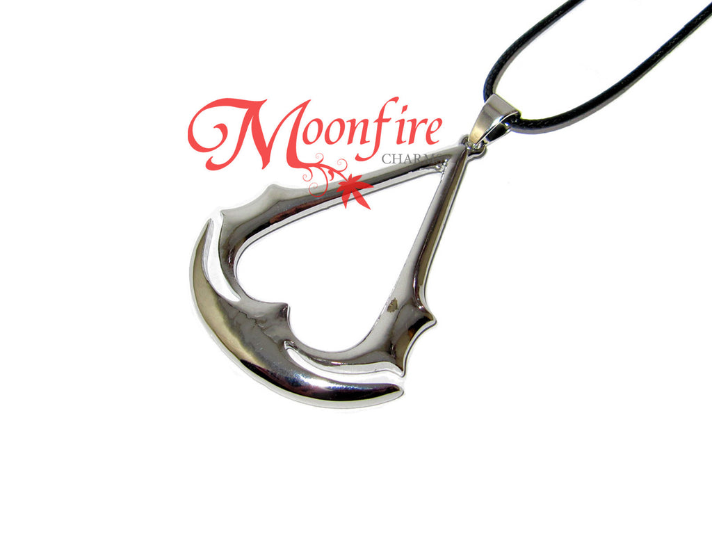 ASSASSIN'S CREED Logo Insignia Pendant Necklace