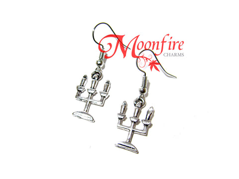 BEAUTY AND THE BEAST Candelabra Earrings