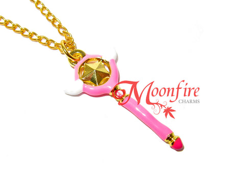 CARDCAPTOR SAKURA Star Wand Sealing Wand Pendant Necklace