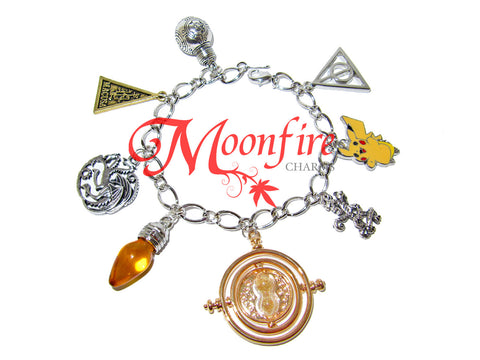 CREATE YOUR OWN Custom Fandom Charm Bracelet