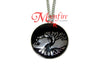 DIVERGENT Amity Faction Symbol Necklace