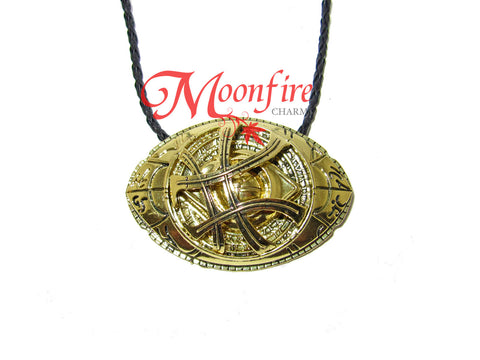 DOCTOR STRANGE Eye of Agamotto Movie Intricate Pendant Necklace