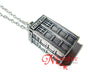 DOCTOR WHO Police Box TARDIS Necklace