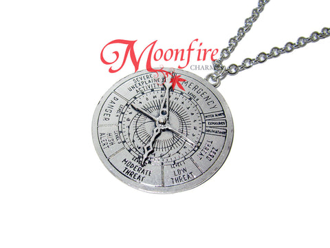 FANTASTIC CREATURES MACUSA Clock Pendant Necklace