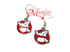 GHOSTBUSTERS Logo Earrings