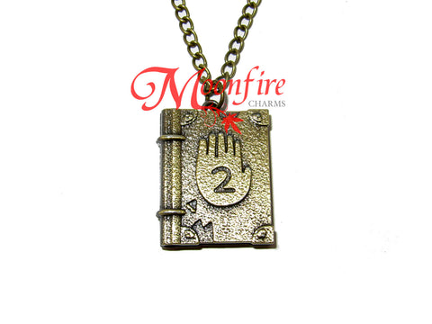 GRAVITY FALLS Journal #2 Pendant Necklace