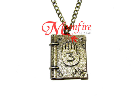 GRAVITY FALLS Journal #3 Pendant Necklace