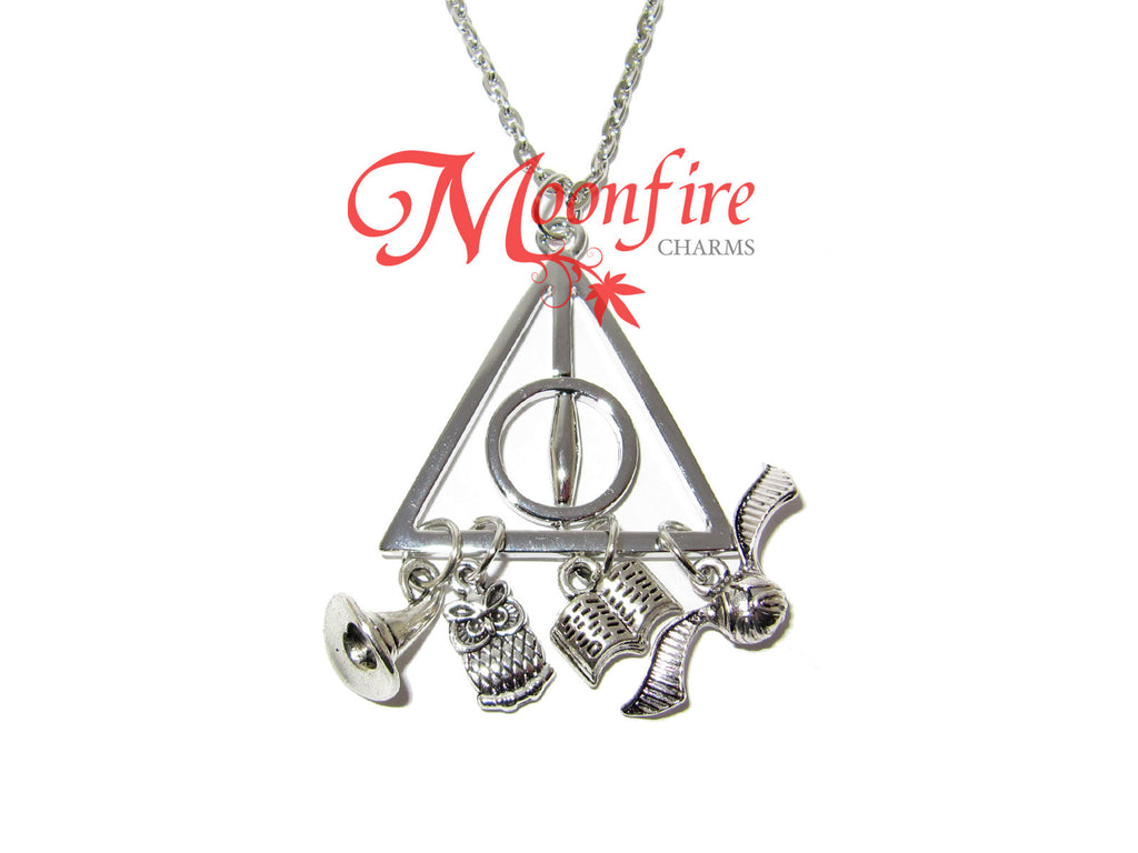 WIZARDING WORLD Deathly Charms Pendant Necklace
