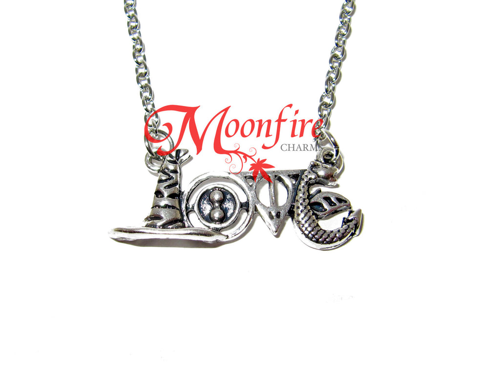 WIZARDING WORLD Love Symbol Pendant Necklace