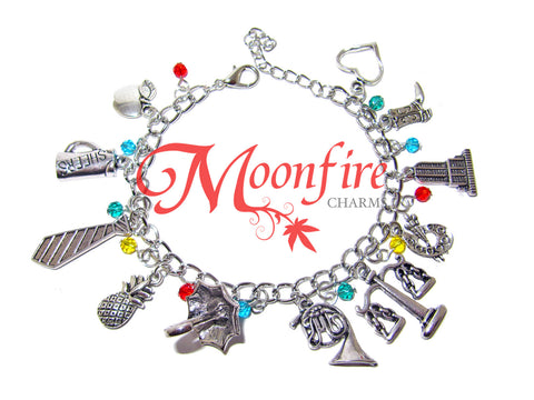 HOW I MET YOUR MOTHER Fandom Charm Bracelet