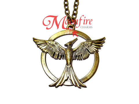 THE HUNGER GAMES: MOCKINGJAY PART 1 Mockingjay Pendant Necklace