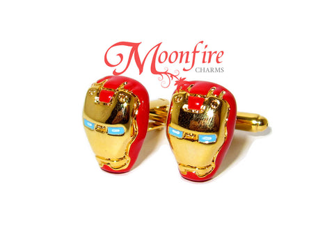 THE AVENGERS Iron Man Helmet Cufflinks