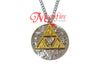 THE LEGEND OF ZELDA Triforce Hylian Symbols Pendant Necklace