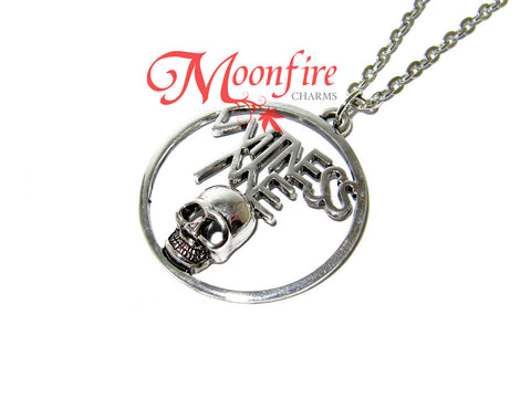 Mad Max Fury Road Witness Me Skull Pendant Necklace