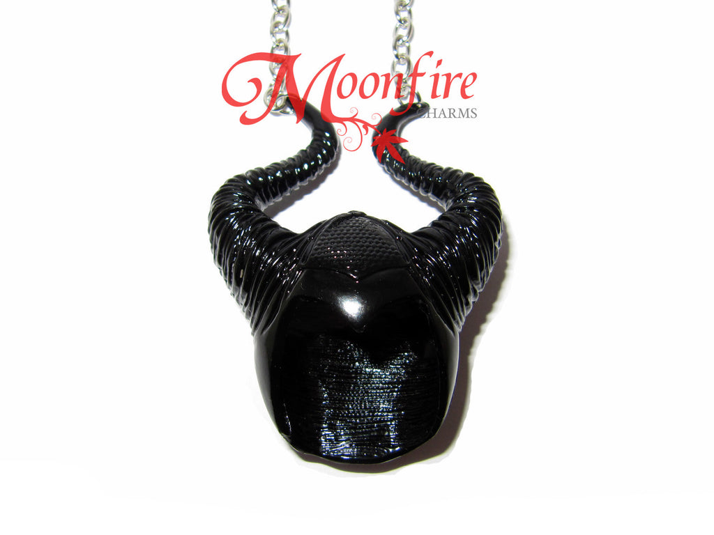 MALEFICENT Horns Headpiece Necklace