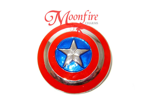 THE AVENGERS Captain America Shield Pin Badge