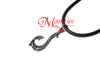 MOANA Matau Symbol Mini Fish Hook Pendant Necklace