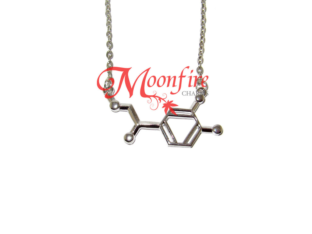 BREAKING BAD Noradrenaline Molecule Structure Necklace