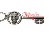 ONCE UPON A TIME Regina Skeleton Key Necklace
