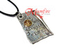 ONCE UPON A TIME Storybook Page Necklace