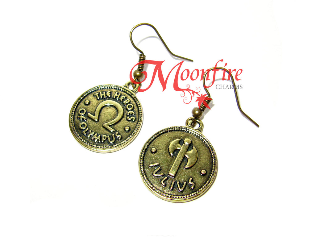 Percy Jackson Heroes Of Olympus Earrings