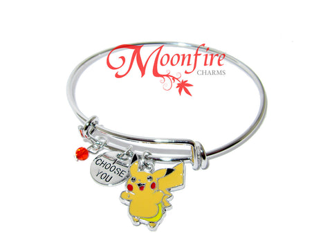 POKEMON Pikachu I Choose You Harmony Bangle