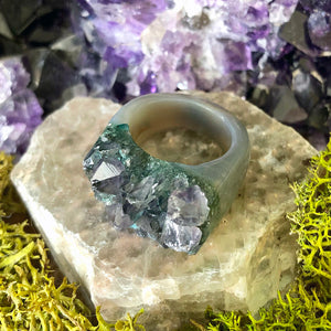 Fairy Garden Rock Candy Ring US 8.5 RCR-001