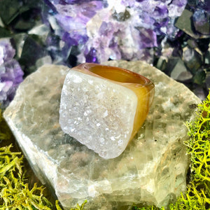 Honey Harvest Rock Candy Ring US 6 RCR-004