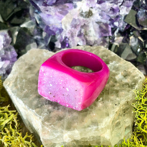 Strawberry Burst Rock Candy Ring US 7 RCR-007
