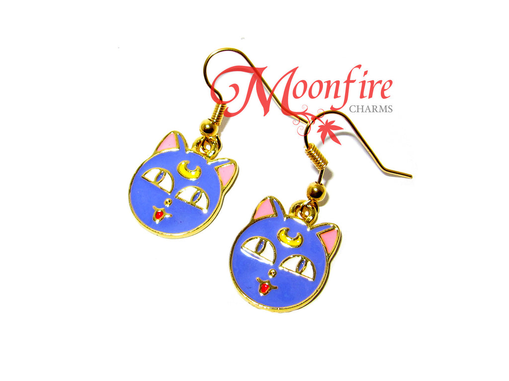 SAILOR MOON Luna Cat Earrings