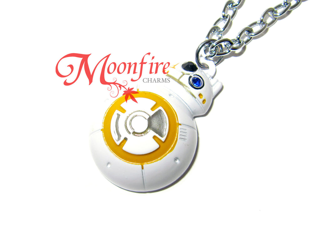 STAR WARS BB-8 White Pendant Necklace