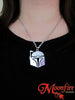 STAR WARS Boba Fett Helmet Pendant Necklace