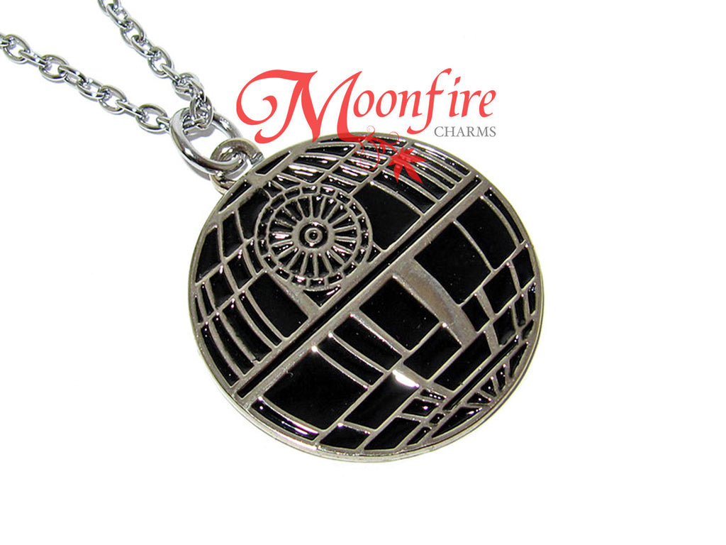 STAR WARS Death Star Enamel Pendant Necklace