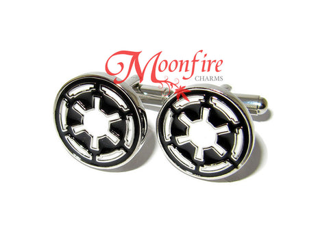 STAR WARS Galactic Empire Imperial Crest Cufflinks