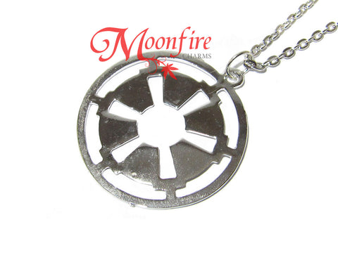 STAR WARS Galactic Empire Imperial Crest Pendant Necklace