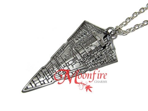 STAR WARS Imperial Star Destroyer Pendant Necklace