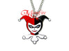 Harley Queen Ruffles Pendant Necklace