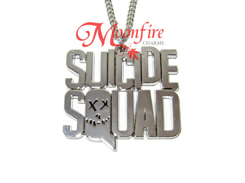 SS Logo Pendant Necklace