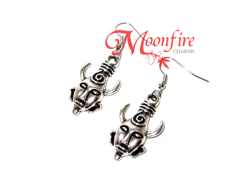SUPERNATURAL Dean's Amulet Samulet Earrings